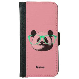 Harajukuのパンダのファッションのかわいいパンダ iPhone 6/6s ウォレットケース