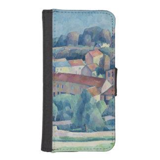 Hardricourtの村および城 iPhoneSE/5/5sウォレットケース