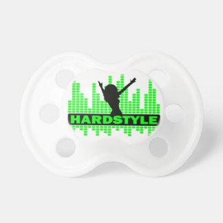 Hardstyleのダンサーのテンポのデザイン おしゃぶり