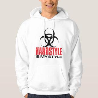 Hardstyleは私のスタイルです パーカ