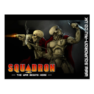 Harkalinの戦士 ポストカード