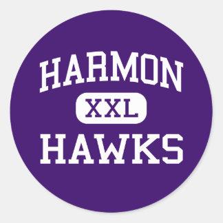 Harmon -タカ-高等学校-カンザスシティカンザス ラウンドシール