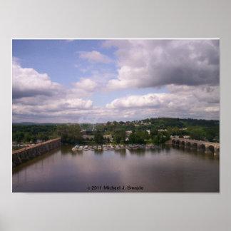 HarrisburgのPaの水上飛行機基盤 ポスター
