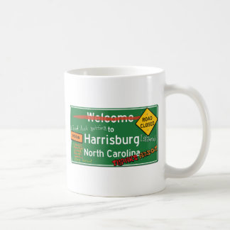 Harrisburgノースカロライナへようこそ コーヒーマグカップ