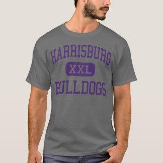Harrisburg -ブルドッグ-高Harrisburgイリノイ Tシャツ