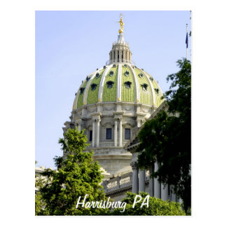 Harrisburg PA ポストカード