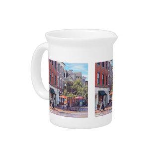 Harrisburg PA -喫茶店 ピッチャー