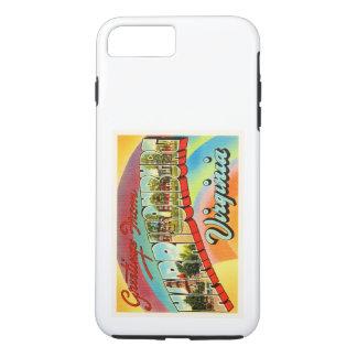HarrisonburgヴァージニアVAのヴィンテージ旅行郵便はがき iPhone 8 Plus/7 Plusケース