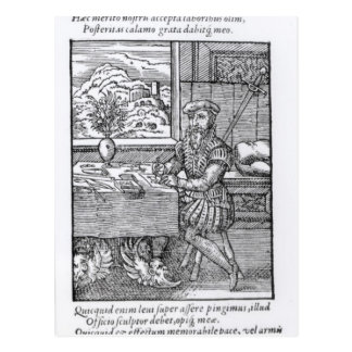 Hartman Schopper著出版されるイラストレーター ポストカード
