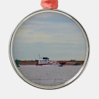 Harwichの避難所の水先船 メタルオーナメント