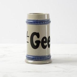 Hashtagのギークの芸術のギフト ビールジョッキ