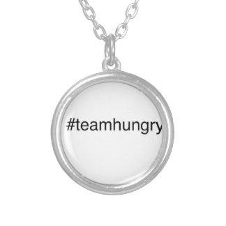 hashtagのチーム シルバープレートネックレス