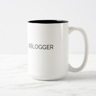 Hashtagのブロガー ツートーンマグカップ