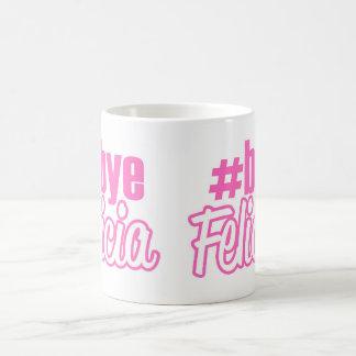 Hashtagの従属的なフェリシアのマグ コーヒーマグカップ
