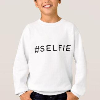 Hashtagの服装- #SELFIE スウェットシャツ
