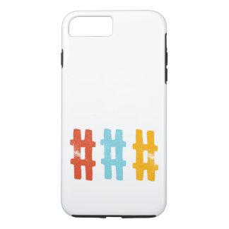 hashtagの電話箱 iPhone 8 plus/7 plusケース