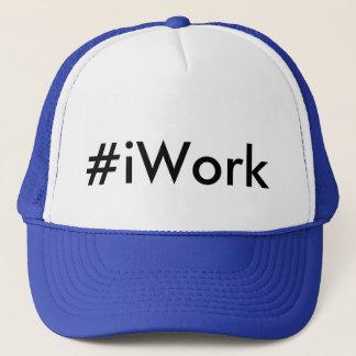 Hashtagの#iWorkのトラック運転手の帽子 キャップ