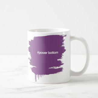 HASHTAG力の底 コーヒーマグカップ