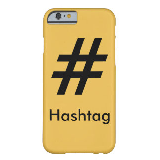 #Hashtag Barely There iPhone 6 ケース