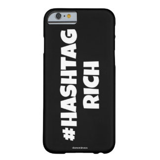 hashtag barely there iPhone 6 ケース