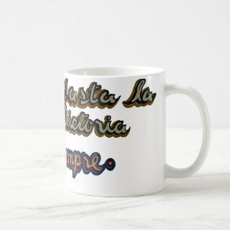 。.hastaのlaのビクトリアsiempre コーヒーマグカップ