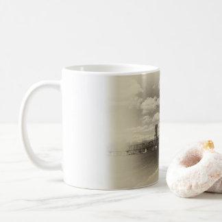 Hastingsの上昇橋 コーヒーマグカップ