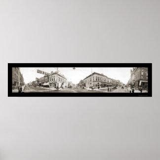 Hastingsネブラスカの写真1909年 ポスター