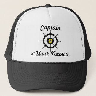 Hat名前入りな大尉 キャップ