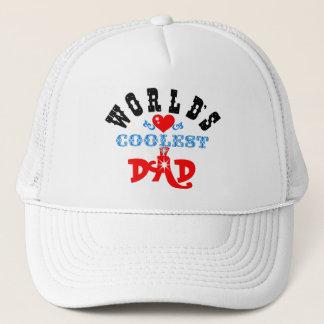 """Hat♥╬ღ ღ╬♥の""""世界で最もクールなパパ""""のトラック運転手 キャップ"""