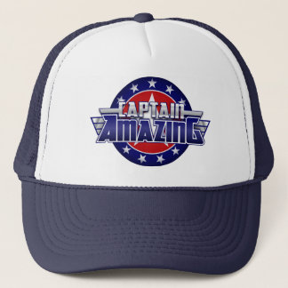 Hat Amazing Trucker大尉 キャップ