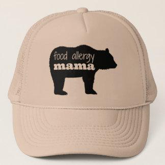 Hat Bear Trucker食物アレルギーのママ キャップ