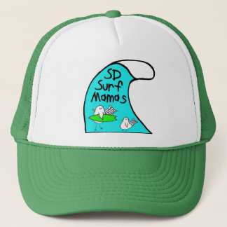 Hat Trucker波のママ キャップ