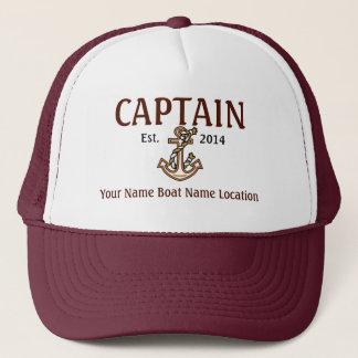 Hat Year Name Location名前入りな大尉 キャップ