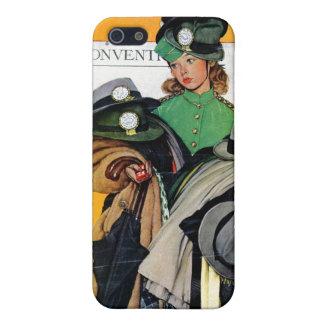 Hatcheck女の子 iPhone 5 Case