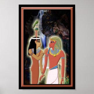 HathorおよびHoremheb ポスター