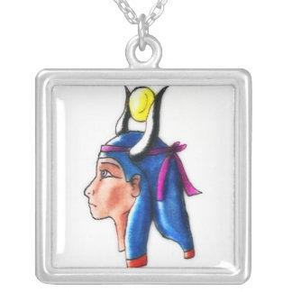 Hathor シルバープレートネックレス