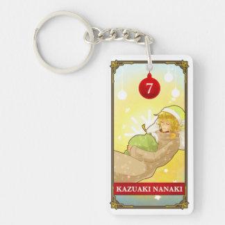 Hatoful Advent calendar 7: Kazuaki Nanaki 長方形(両面)アクリル製キーホルダー