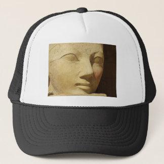Hatshepsutの彫像、エジプトのファラオHatshepsut キャップ