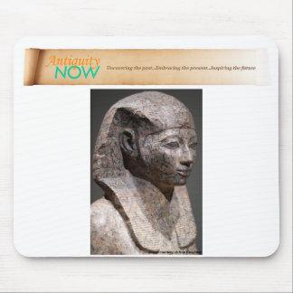 HatshepsutのAntiquityNOWの旗のマウスパッド マウスパッド