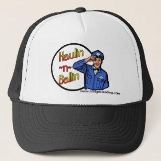 Haulin-n-ballinのトラック運転手の帽子 キャップ