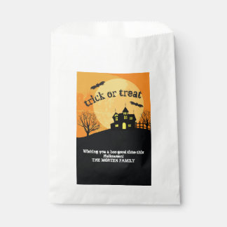 Haunted house trick or treat bag フェイバーバッグ