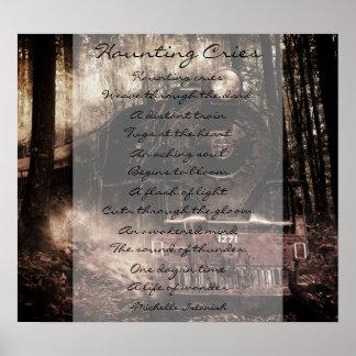 Haunting Cries ~ A Life of Wonder Poem ポスター