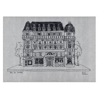 Haussmannの建築| Rue du Louvre、パリ カッティングボード
