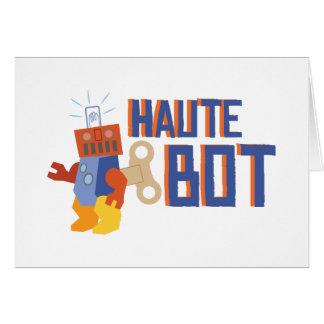 Hautの馬蝿の幼虫 グリーティングカード