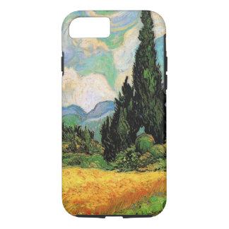 Haute Gallineのゴッホの小麦畑wスギ iPhone 8/7ケース