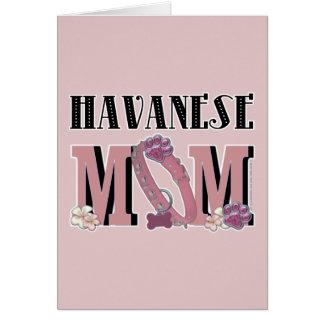 Havaneseのお母さん カード