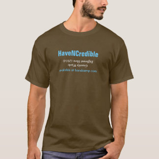 HaveNCredible著GWDH Tシャツ