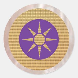 Havenlyの紫色のGoldstar ラウンドシール