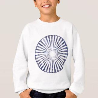Havenlyの青い花のチャクラ スウェットシャツ