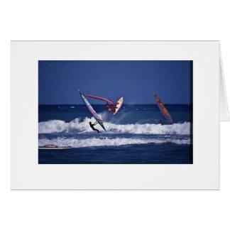 Hawai'iはウィンドサーフィンをします カード